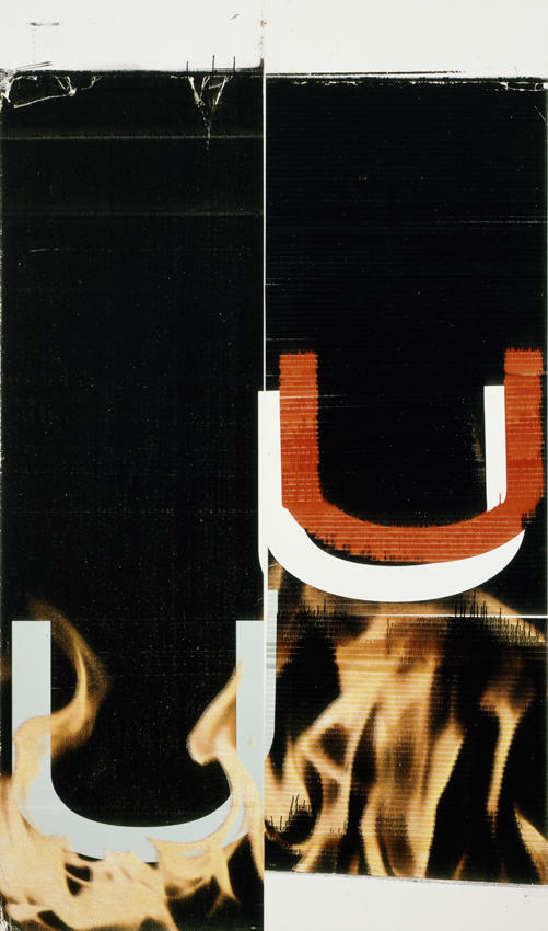 <i>Untitled</i> 2006 Epson ultrachrome inkjet on linen 90 x 53 inches