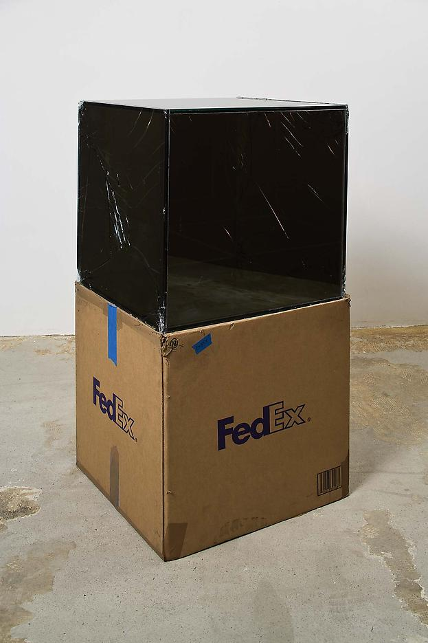Walead Beshty FedEx® Large Kraft Box ©2005 FEDEX 330508 REV 10/05 SSCC, International Priority, Los Angeles-Tijuana trk#865282057997, October 29 - November 6, 2008, International Priority, Tijuana-Los Angeles trk#867279774918, January 2 - 6, 2009,