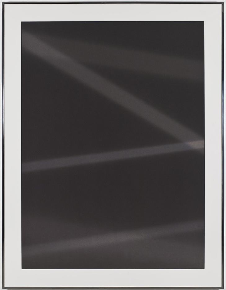 Walead Beshty Transparency (Negative) [Kodak Portra 160NC Em. No. 3161: November 28 - 30, 2010 LAX/MIA MIA/LAX]