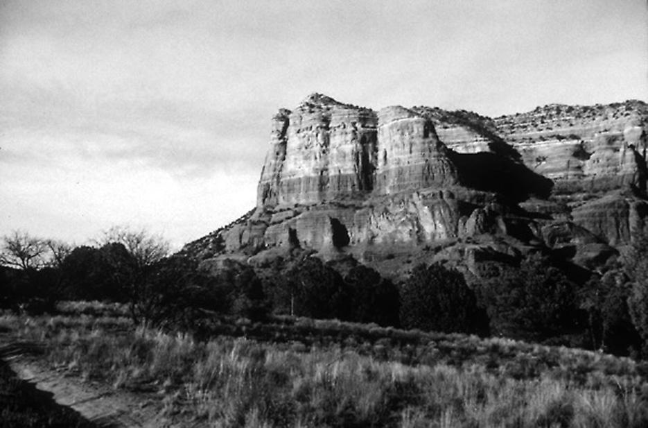 Red Rock 1999 selenium-tones silver print, edition of 6 16 x 20 inches/40.6 x 50.8 cm