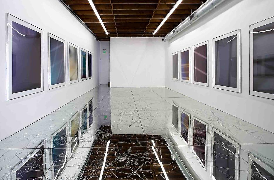 Walead Beshty Passages Installation view LAXART