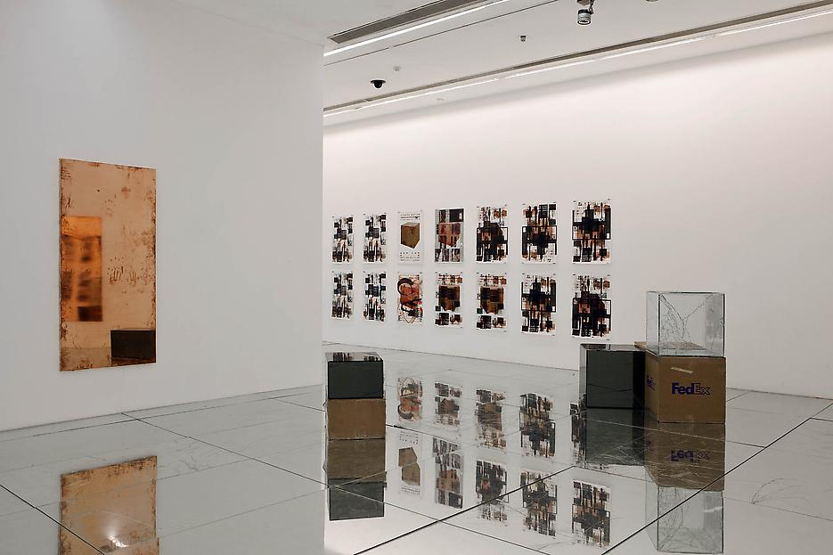 Walead Beshty Securities and Exchanges Installation view Ullens Center for Contemporary Art