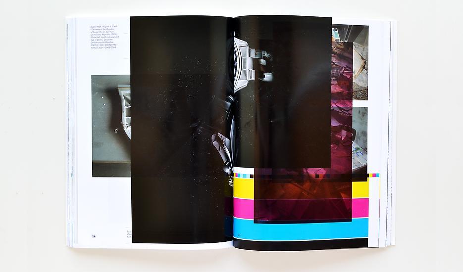 Walead Beshty Make-Ready 1 (Walead Beshty: Selected Correspondences 2001-2010, Bologna: Damiani Editore, 2010, Grafiche Damiani, Bologna, Italy, July 4 – 6, 2010)