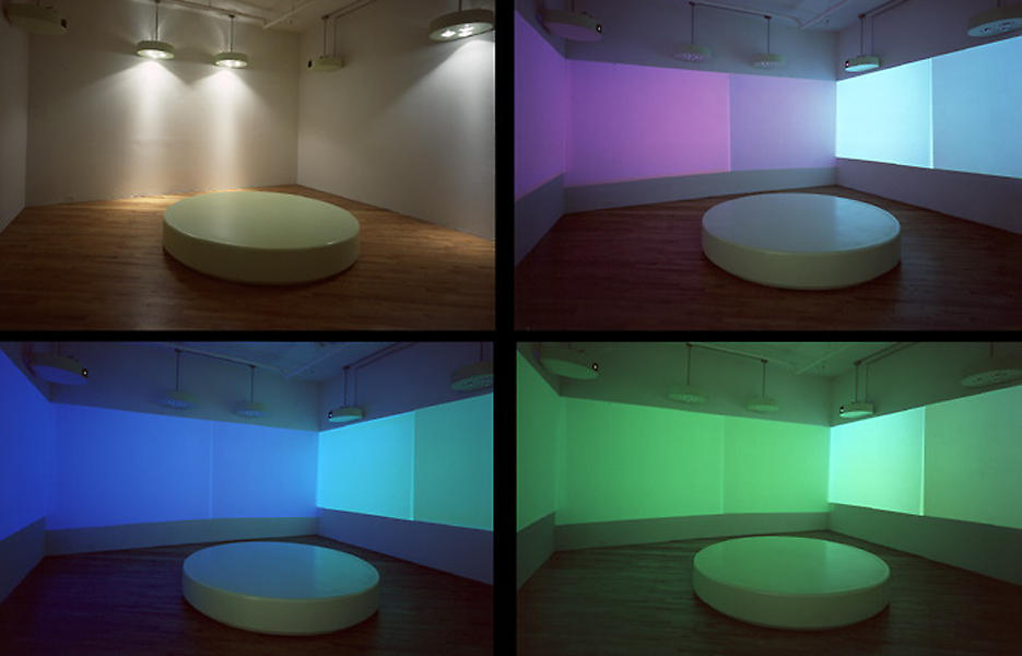 The Missing Colors 1997 various materials dimensions variable