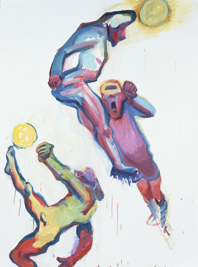 Competition III 2000 oil on canvas 81.5 x 60.24 inches/207 x 153 cm