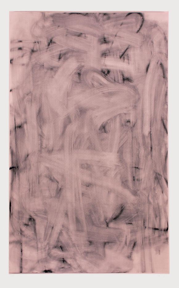 Christopher Wool: Three Women (Image II – medium rose) 2006, edition of 9, 3 AP silkscreen on saunders watercolor paper 410g 81.5 x 50 inches/207 x 127 cm
