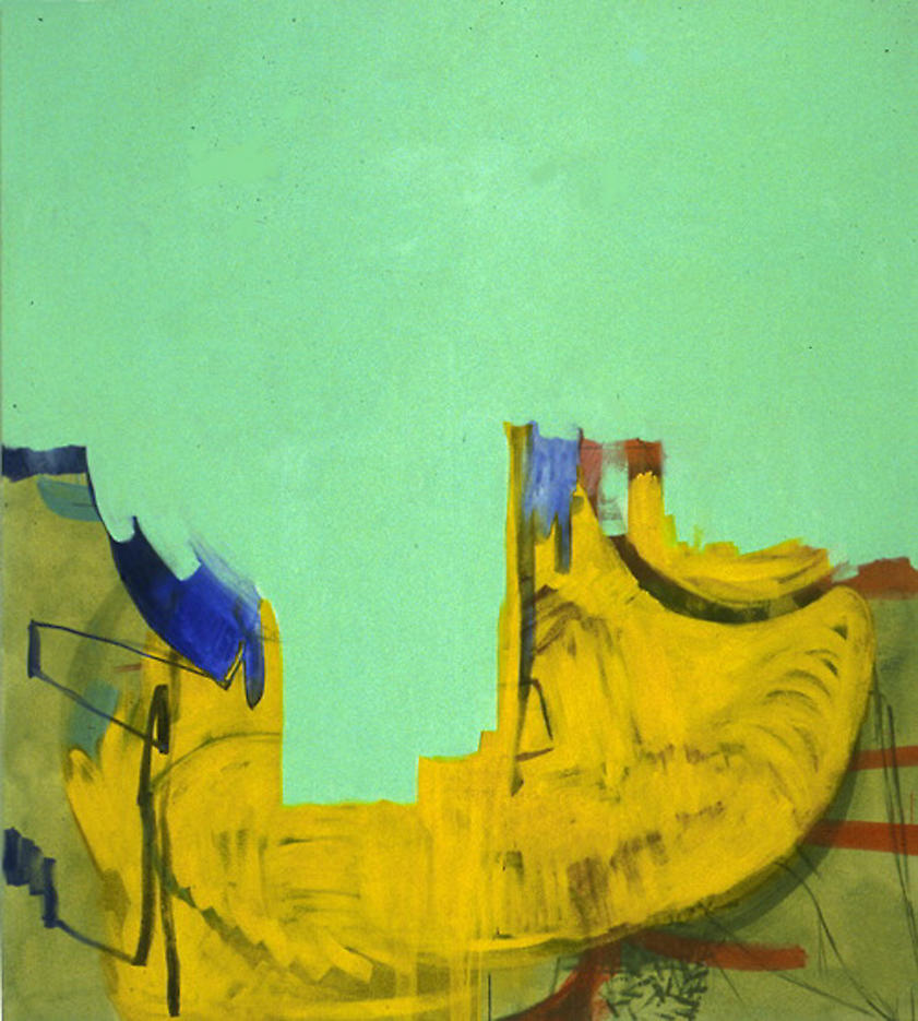 Untitled (4/98 II)	 1998	 oil on canvas	 75 x 67 inches/190.5 x 170.2 cm