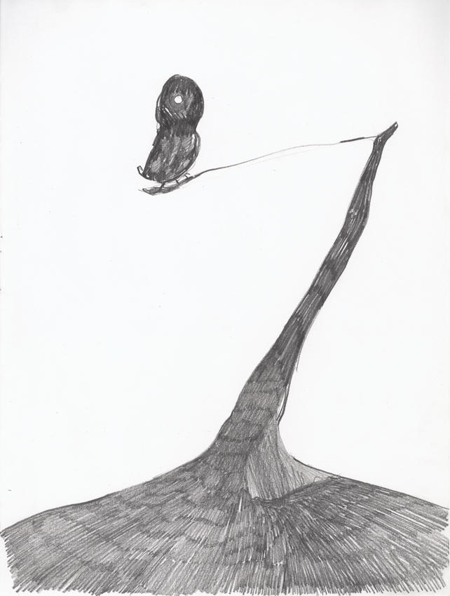 Untitled 2003 graphite on paper 17.25 x 14.25 inches/43.8 x 36.2 cm