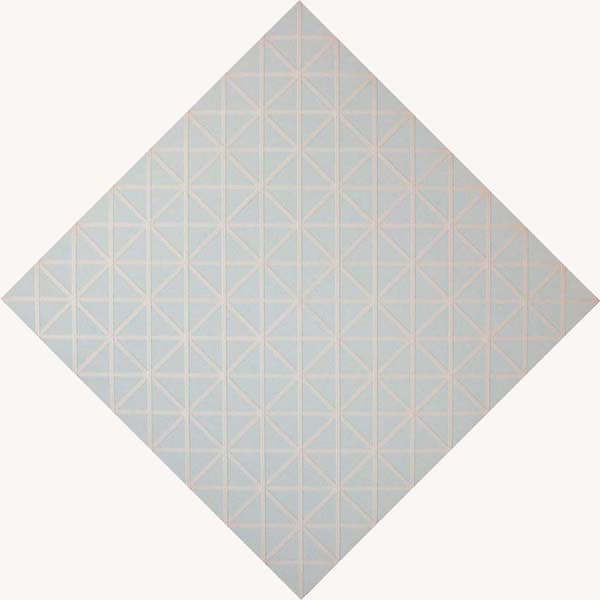 <i>Untitled</i> 2005 Fabric and tape on canvas 78.74 x 78.74 inches