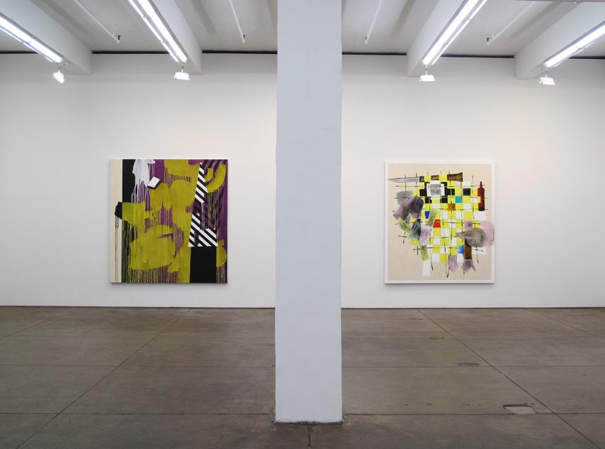 Installation view Friedrich Petzel Gallery 2010