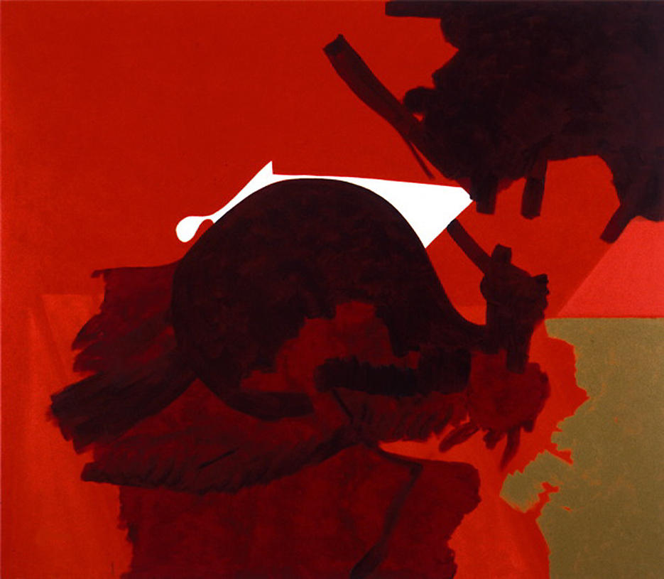 Untitled (8/98 II) 1998 oil on canvas 59.25 x 63.25 inches/150.5 x 160.7 cm