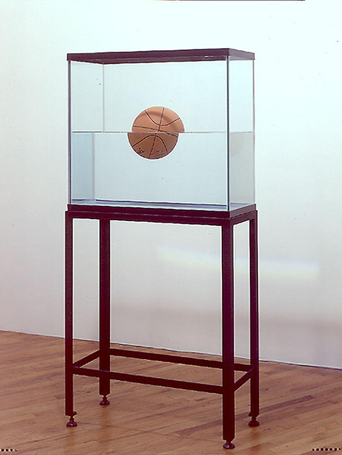 Jeff Koons: One Ball 50/50 Tank