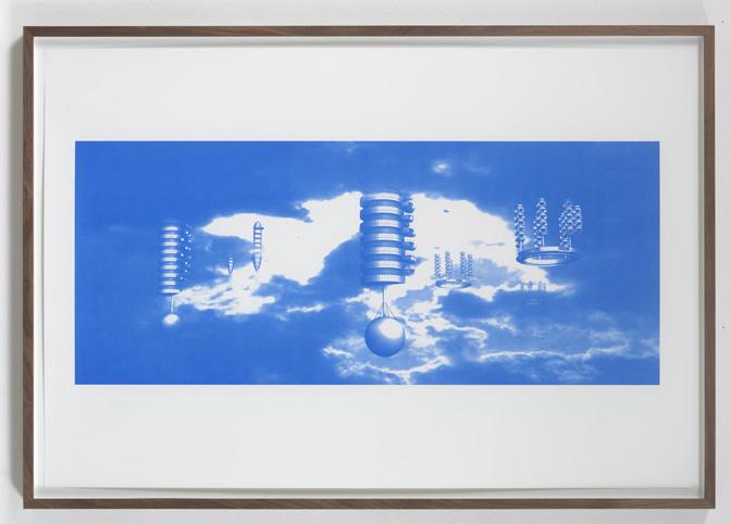 Jorge Pardo <i>Untitled #6 Carsten Höller</i> 2008  Silkscreen on paper  85,5 x 125,5 cm