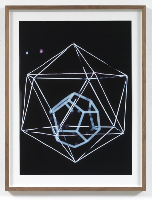 Jorge Pardo <i>Untitled #2 Angela Bulloch</i> 2008  Laser print on paper  77,4 x 56,2 cm