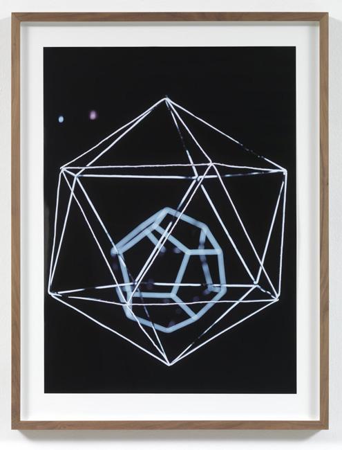 Jorge Pardo <i>Untitled #2 Angela Bulloch</i> 2008  Laser print on paper  77,4 x 56,2 cm