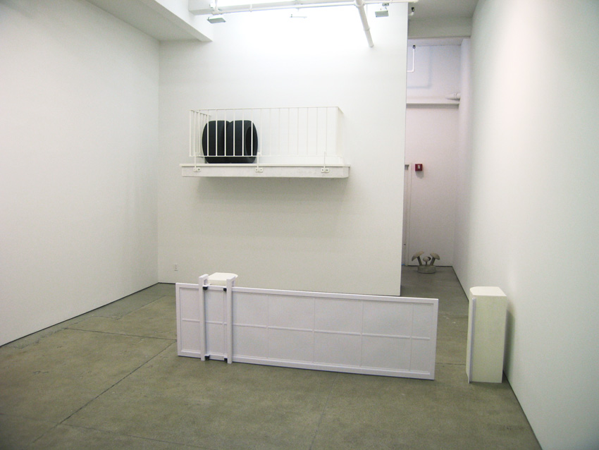 The Pierres at the Petzelette Friedrich Petzel East Gallery Installation 2008