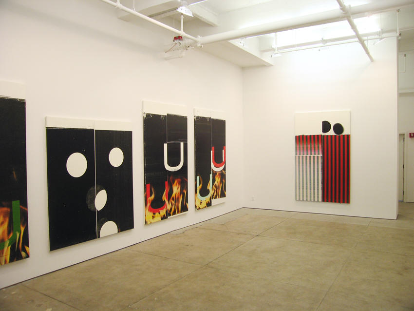 <i>Color, Power & Style</i> Installation view Friedrich Petzel Gallery 2006