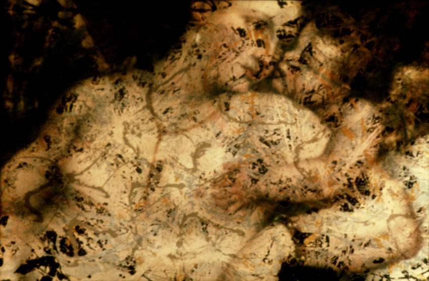 Untitled (Pollock/Titian) #4 1984/2005 digital c-print, ed. of 5 40 x 61 inches/101.6 x 154.9 cm