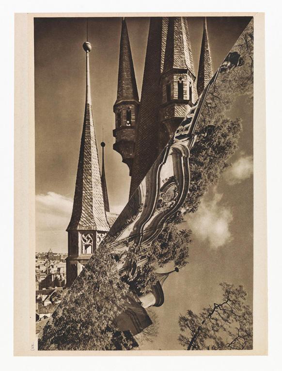 John Stezaker The Bridge (from the Castle Series) XX Collage