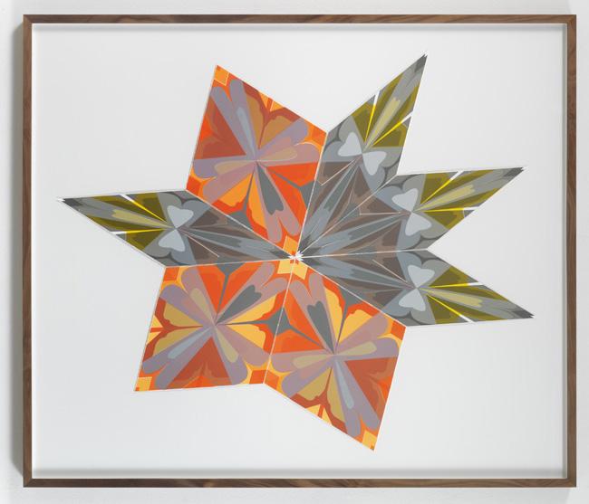 Jorge Pardo <i>Untitled #8 Jorge Pardo</i> 2008 Silkscreen on paper  96 x 113 cm