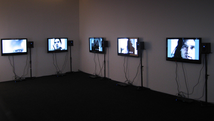 Set of Twelve Friedrich Petzel Gallery Installation 2008
