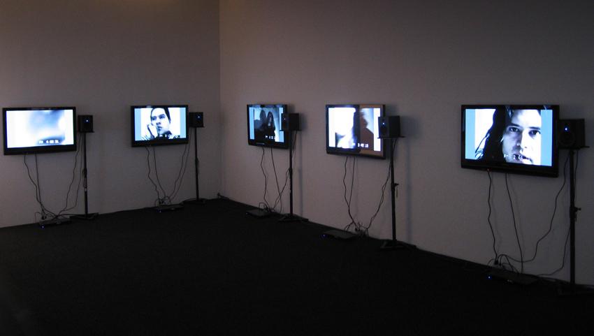 <i>Set of Twelve</i> Installation view Friedrich Petzel Gallery 2008