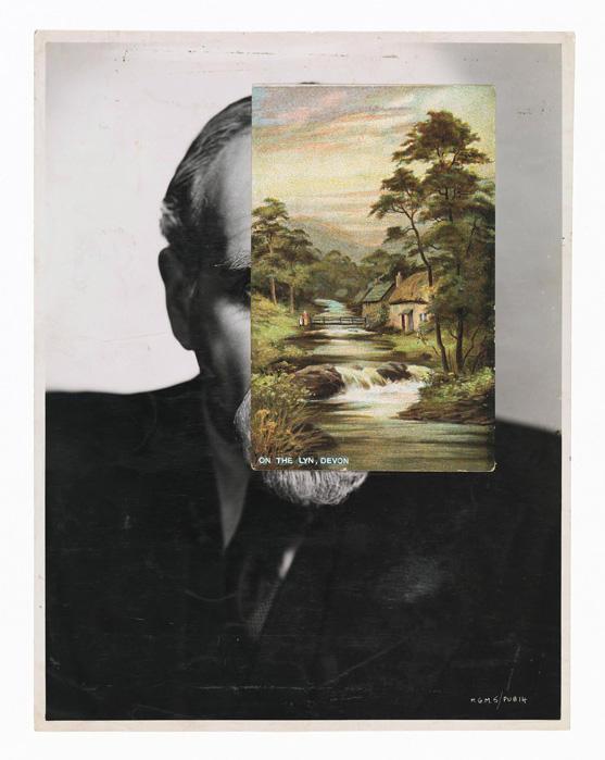 John Stezaker Mack LXXVIII Collage