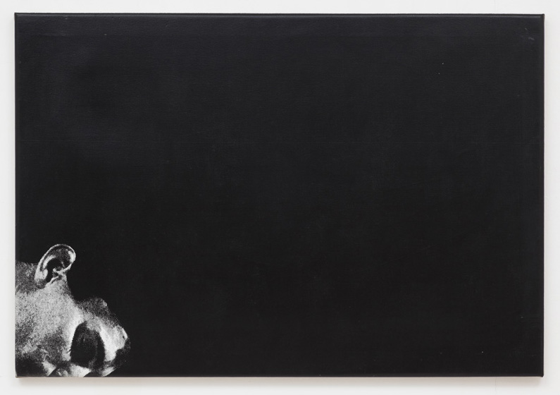 Untitled 1978 Silkscreen on linen 27.17 x 39.37 inches