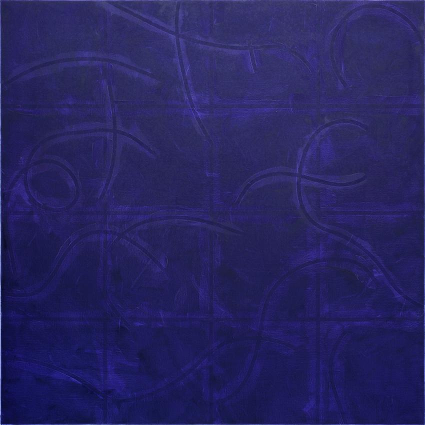 Untitled 2010 Oil and acrylic on canvas 78.74 x 78.74 inches