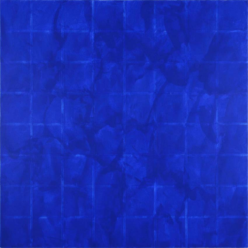 <i>Untitled</i> 2008 Acrylic and tape on canvas 78.74 x 78.74 inches
