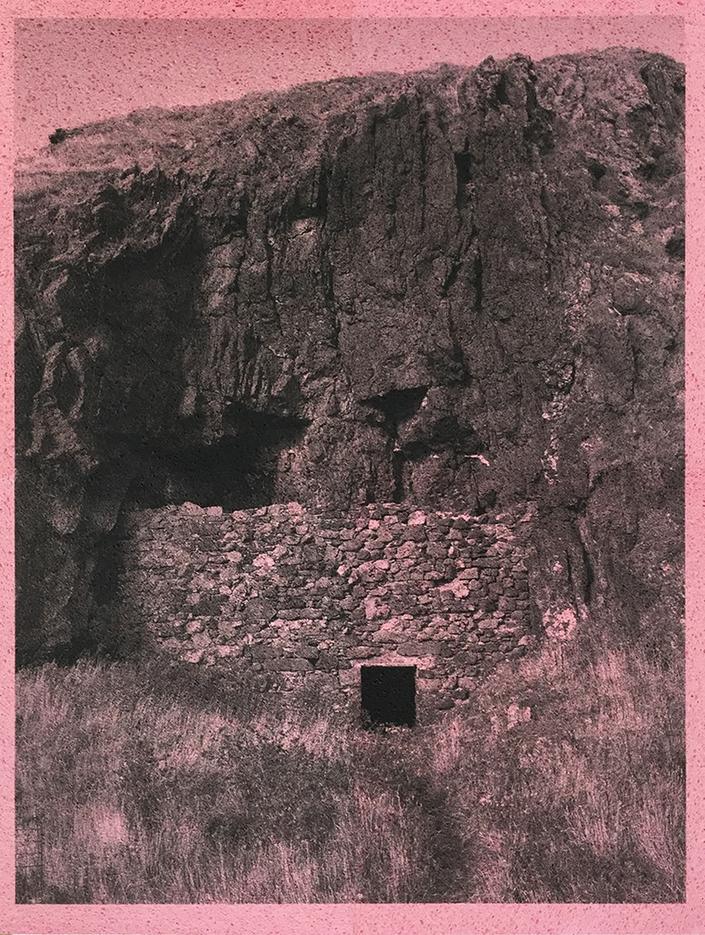 Adam McEwen Pink Cave 2015