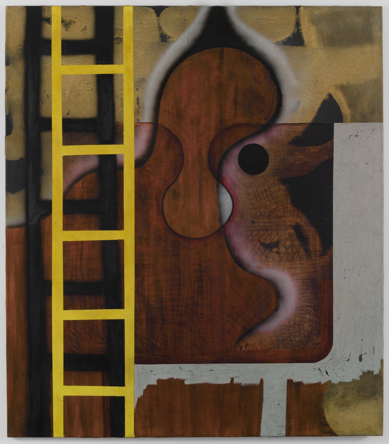 Charline von Heyl Untitled (6/91, I) 1991