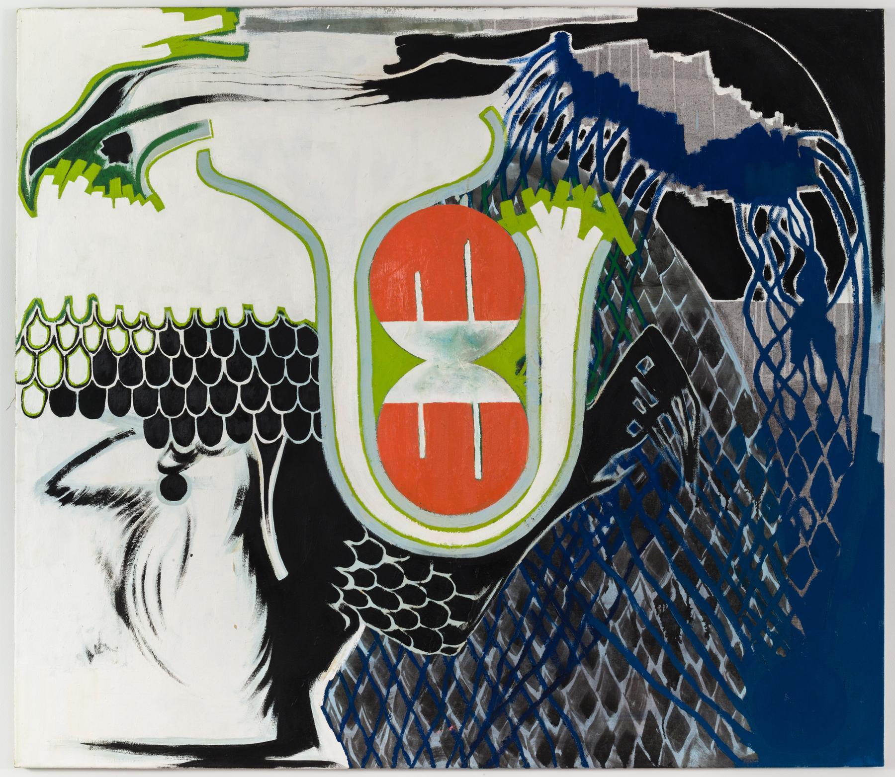 Charline von Heyl Untitled (11/93, I) 1993