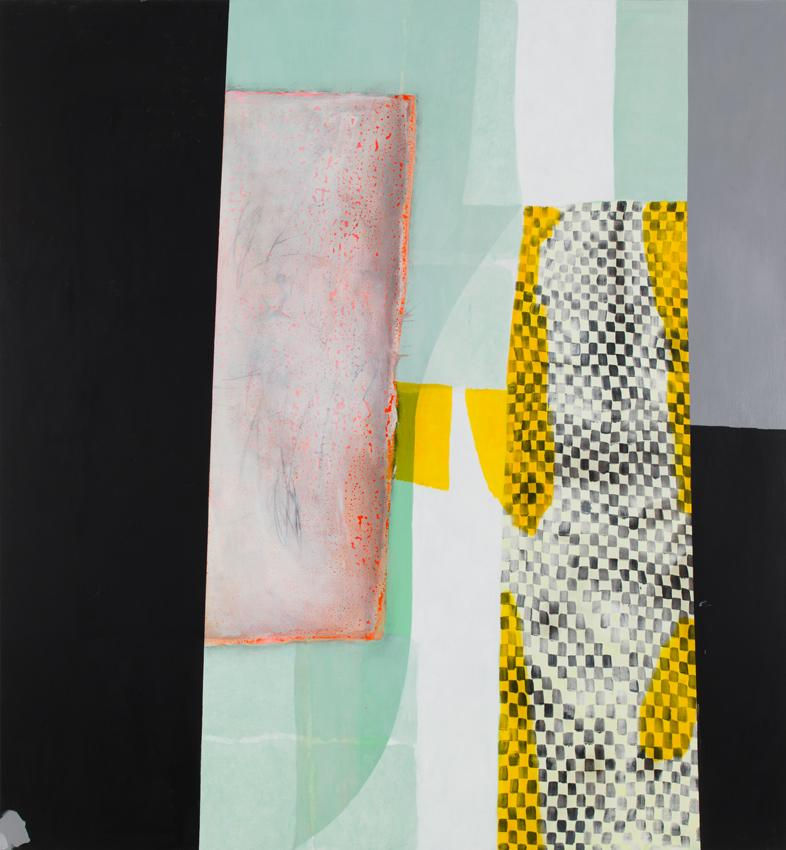 Charline von Heyl <i>Moky</i> 2013 Oil and acrylic on canvas 82 x 76 inches 208.3 x 193 cm