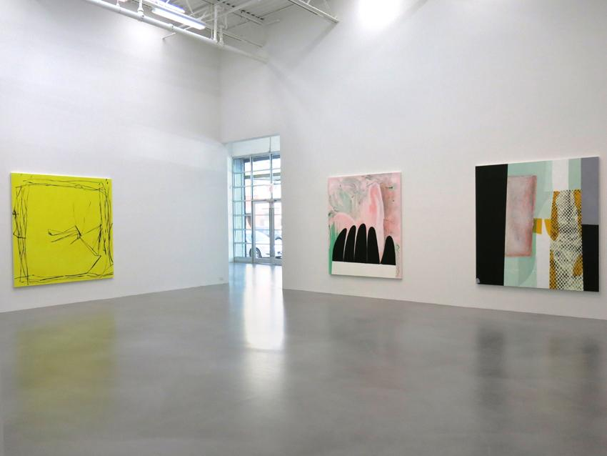 Charline von Heyl Installation view 3 2013