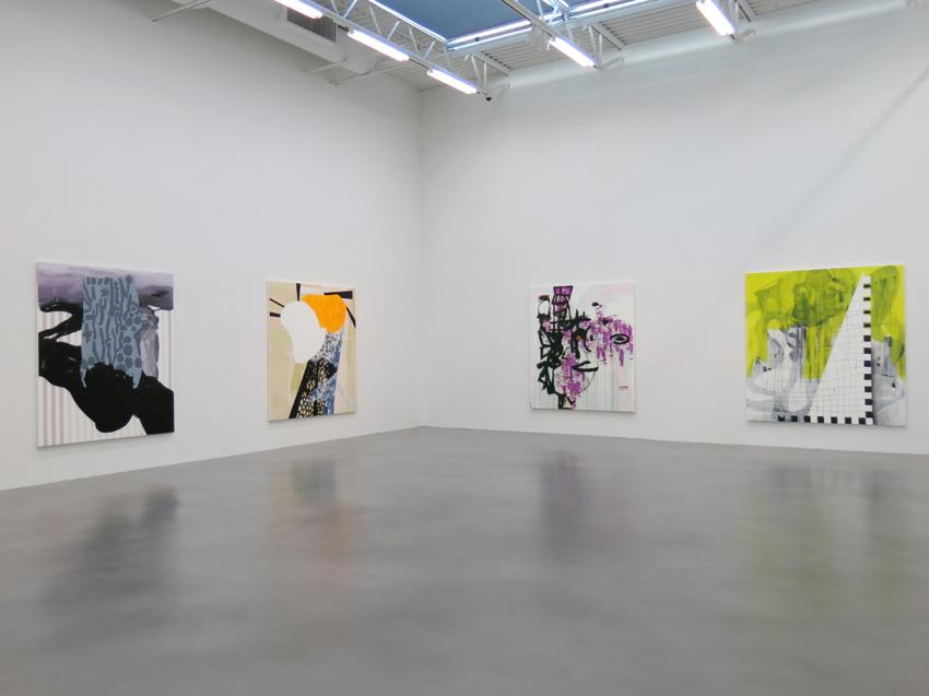 Charline von Heyl Installation view 6 2013