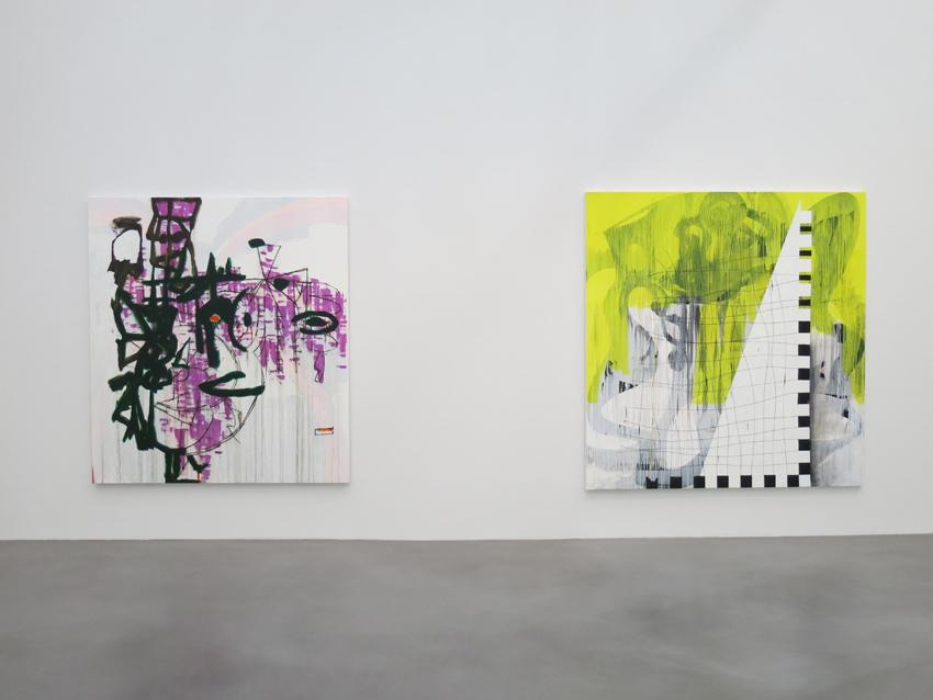 Charline von Heyl Installation view 7 2013