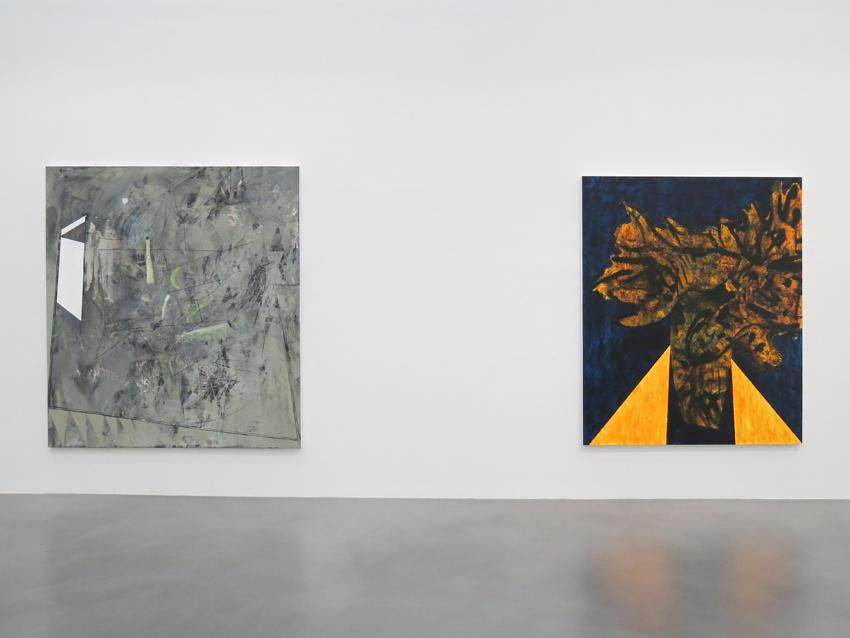Charline von Heyl Installation view 9 2013