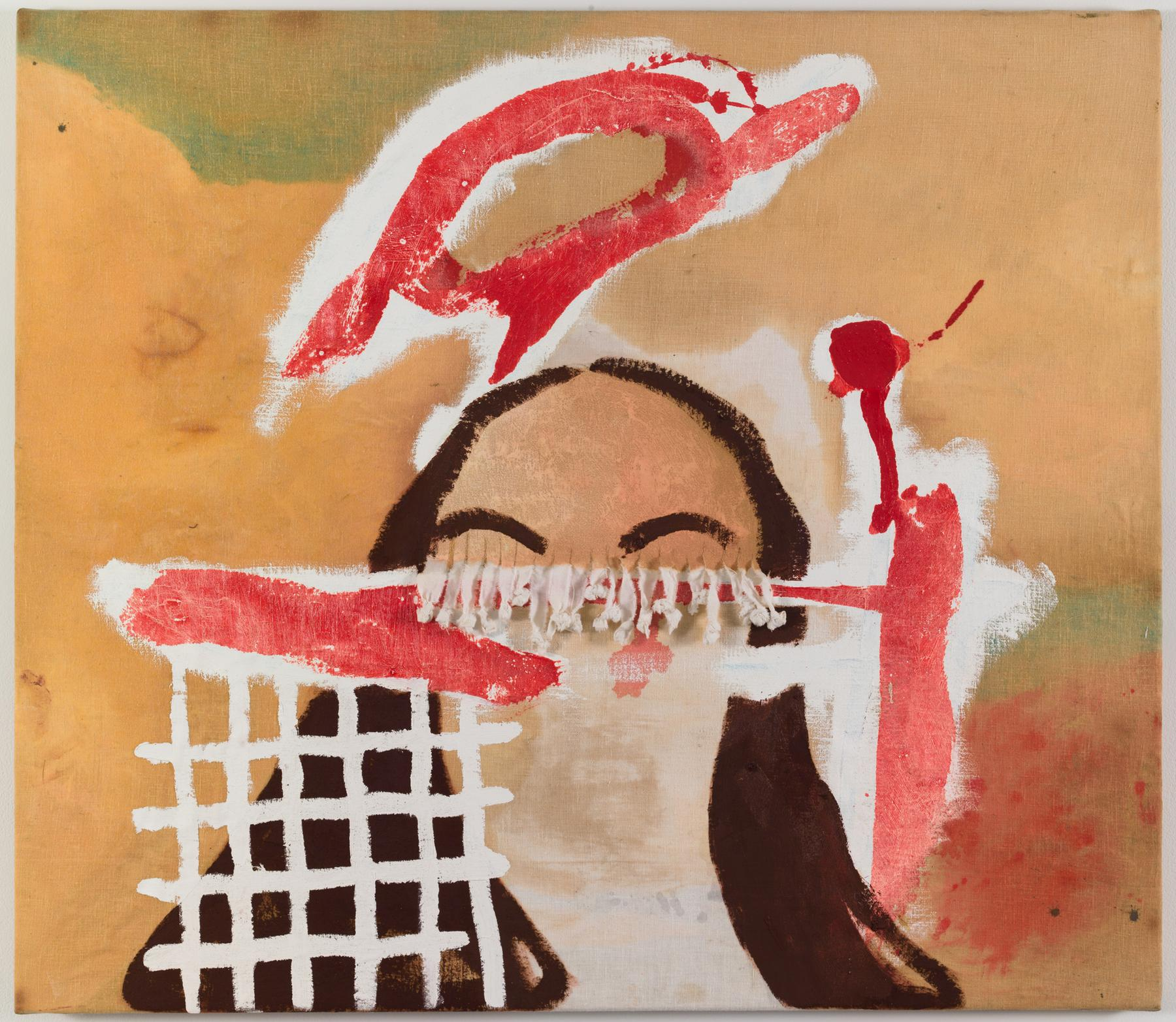 Charline von Heyl Untitled 1995