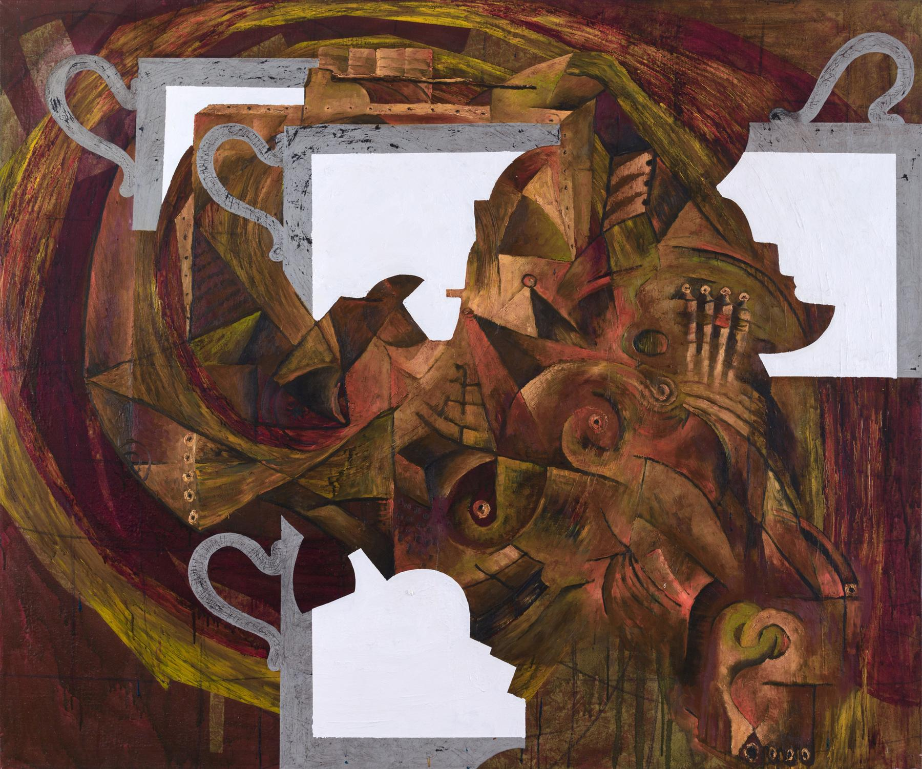 Charline von Heyl Untitled (8/90) 1990