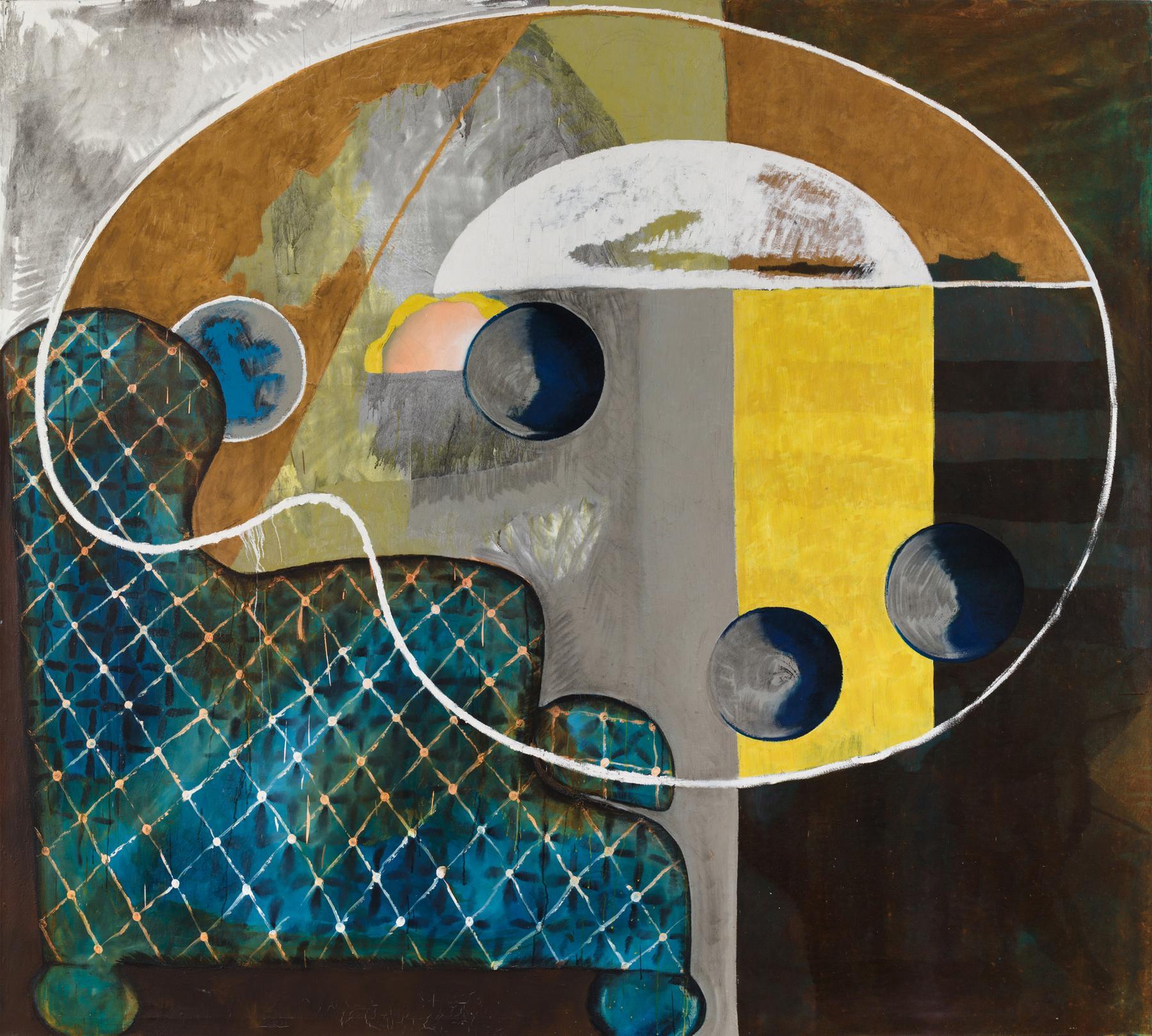Charline von Heyl Untitled (3/95, I) 1995