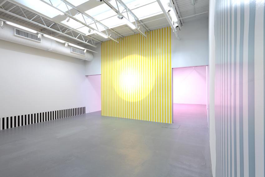 Daniel Buren Installation view 2 2013