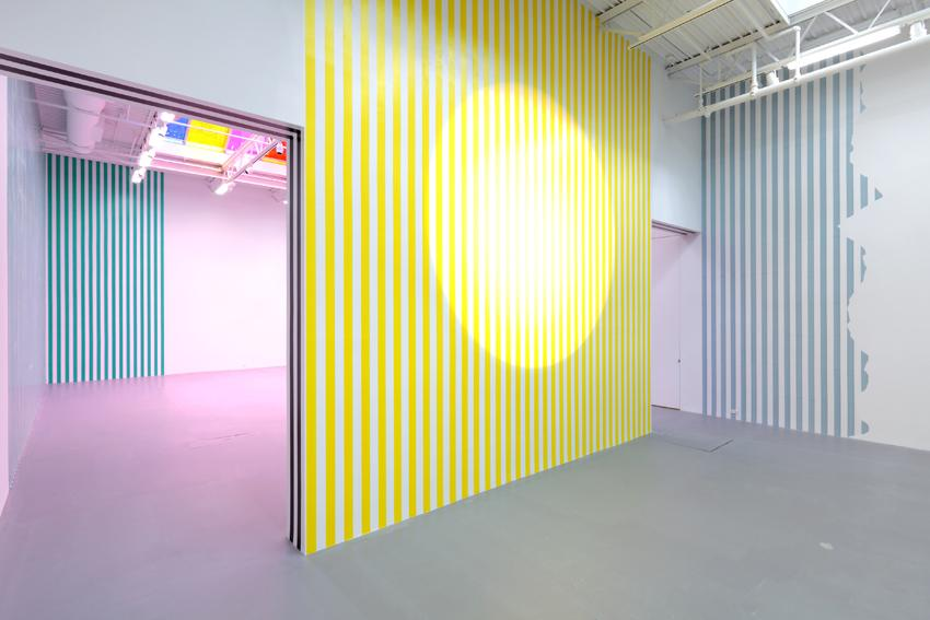 Daniel Buren Installation view 3 2013