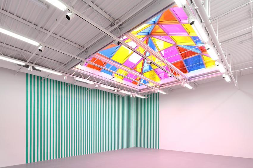 Daniel Buren Installation view 5 2013
