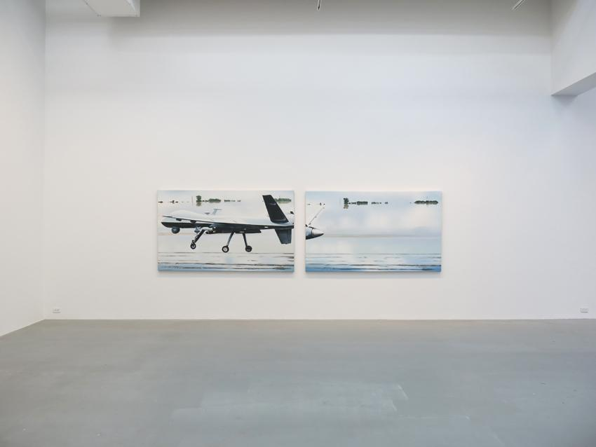 Dirk Skreber Installation view 5 2013