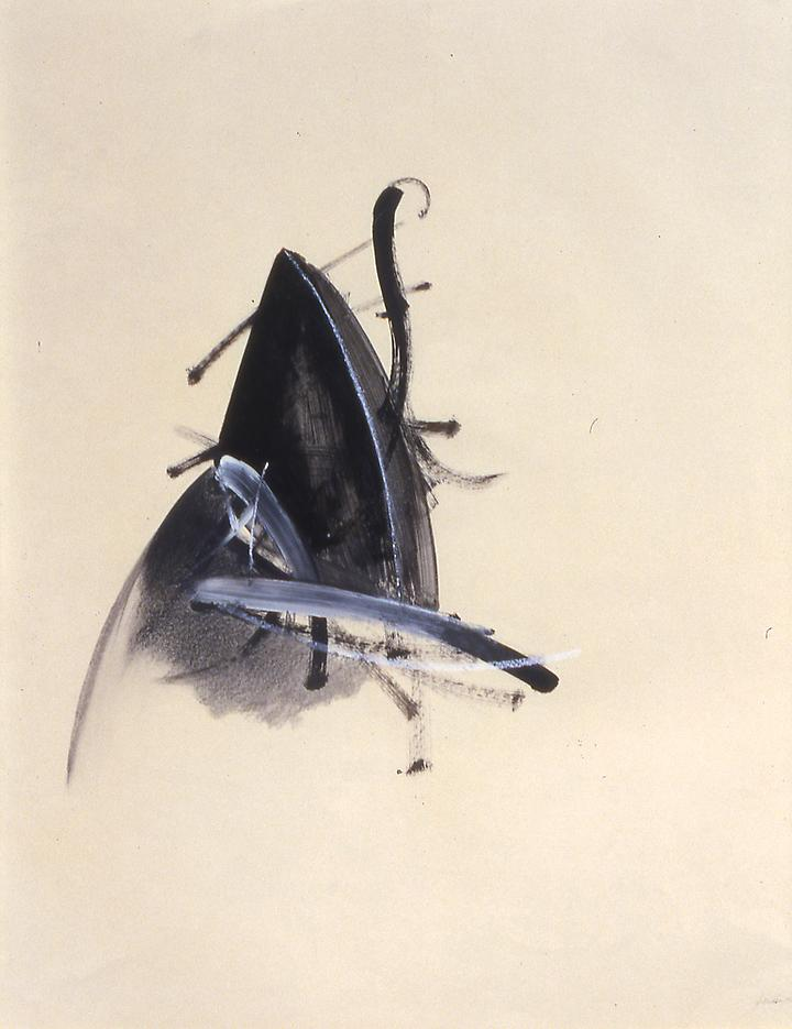 Jay DeFeo <i>Untitled (Jewelry series)</i> 1977 Graphite and acrylic on paper 29 x 23 1/4 inches