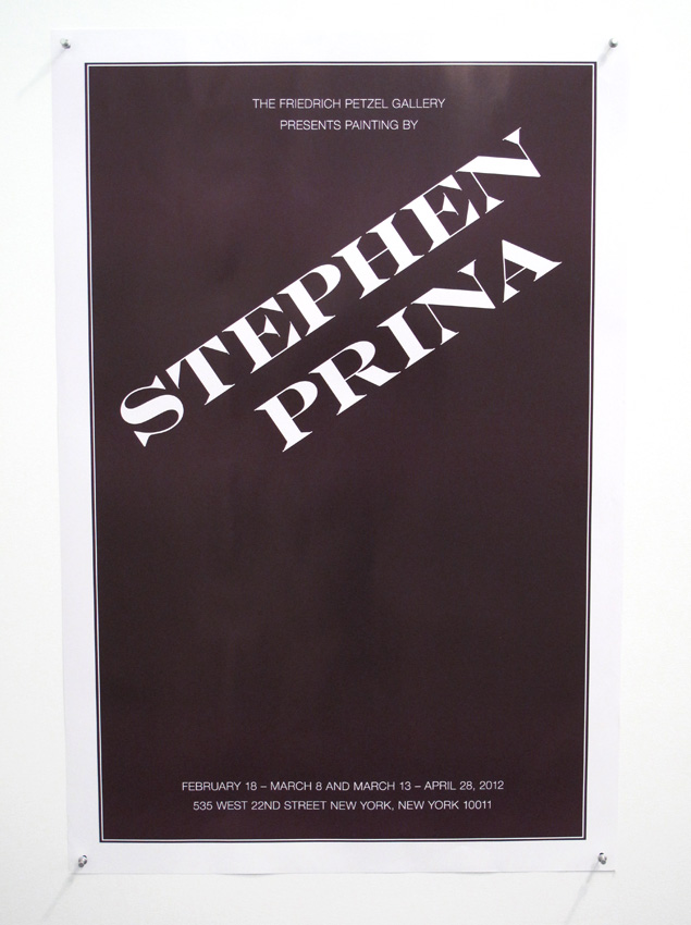 <i>Poster by Joseph Logan</i> 2012 Offset print