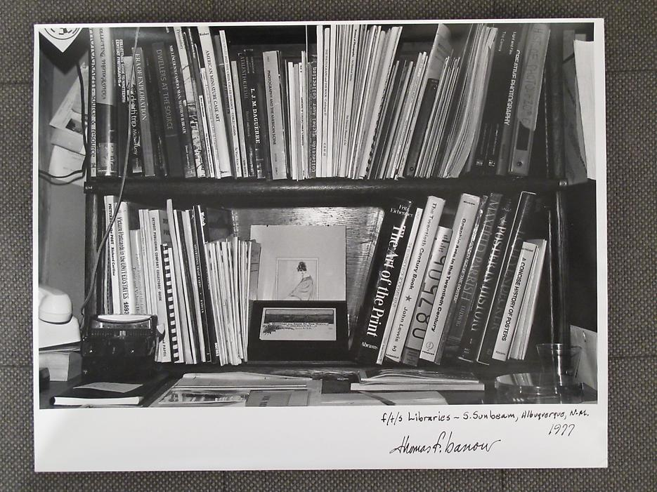 Thomas Barrow <i>F/T/S Libraries - S. Sunbeam, Albuquerque, NM</i> 1977 Gelatin silver print 11 x 14 inches