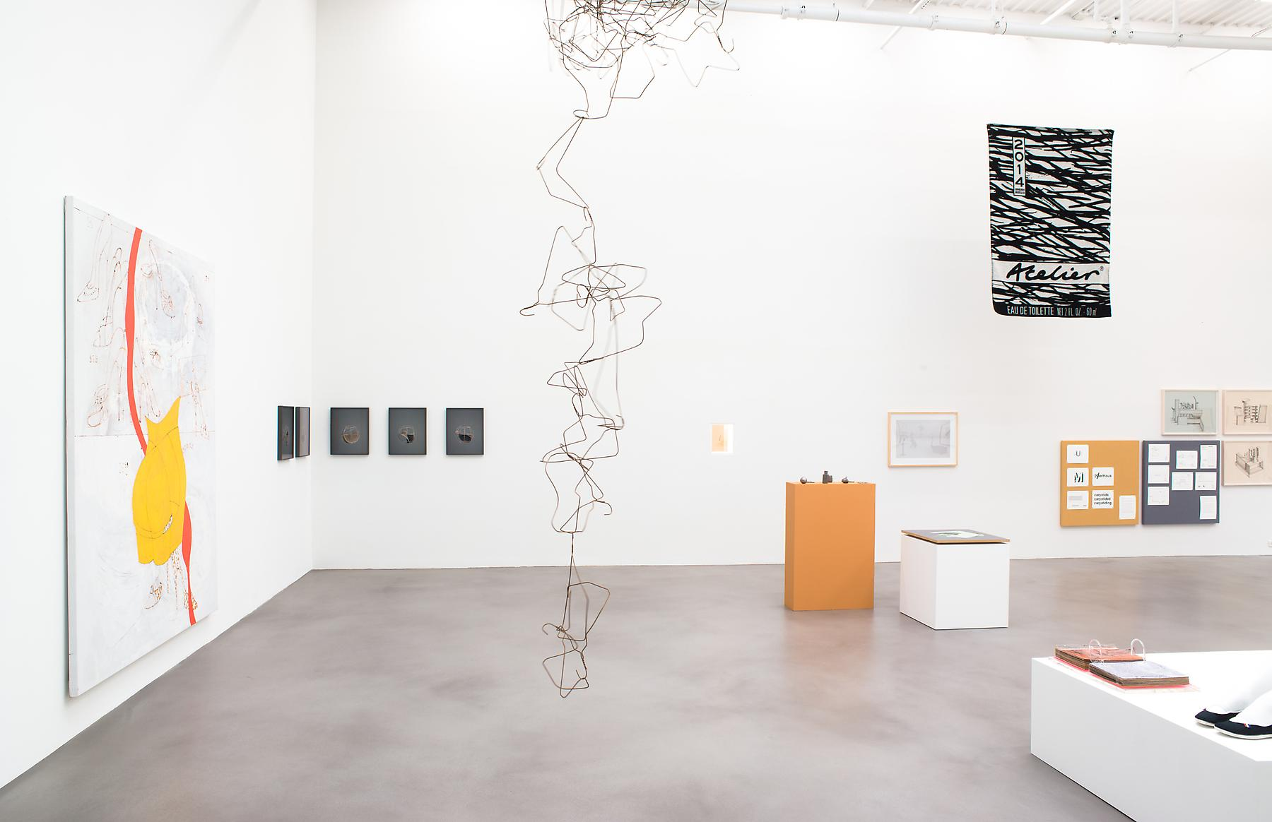 <i>A Machinery for Living</i> Installation view 18 2014