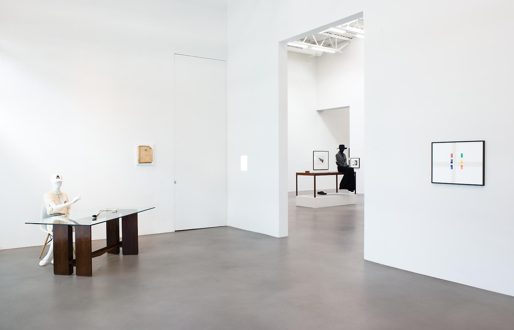<i>A Machinery for Living</i> Installation view 2 2014